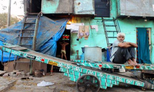 Zdjęcie INDIE / Maharasztra / Mumbaj / życie slamsów
