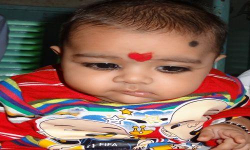 Zdj�cie INDIE / Rad�astan / w poci�gu do Jaipuru / Ma�a Hinduska