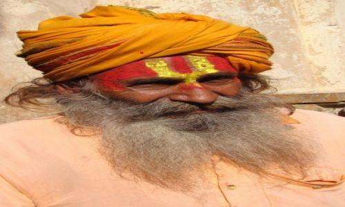 Zdj�cie INDIE / Madhya Pradesh / Orchha / Sadhu