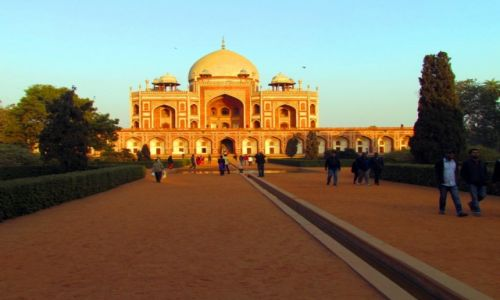 INDIE / Uttar Pradesh / Delhi / Grobowiec Humanyuna