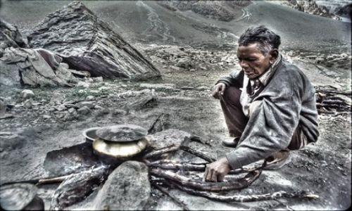 Zdjęcie INDIE / Kashmir / Himalaje Garhwalu / Pasterz Bakarwal