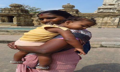 Zdjęcie INDIE / Tamil Nadu / Kanchipuram / Mama