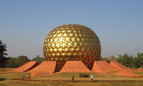 Zdjęcie INDIE / Tamil Nadu / Auroville / Miasto Świtu