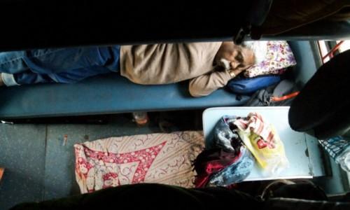 INDIE / Goa / Pociąg / najlepiej się sypia w indyjskim pociągu