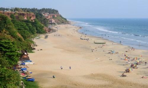 INDIE / Kerala / Varkala / Varkala Beach