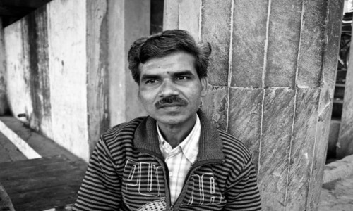 Zdjęcie INDIE /  Uttar Pradesh / Varanasi / Twarze Indii