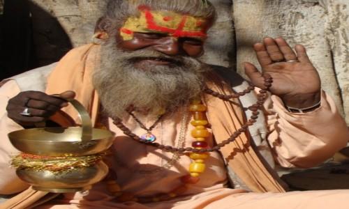 INDIE / Radżastan / Pushkar / Holy man