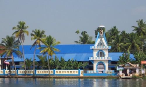 Zdjęcie INDIE / Kerala / okolice Allepey / kościoły Kerali