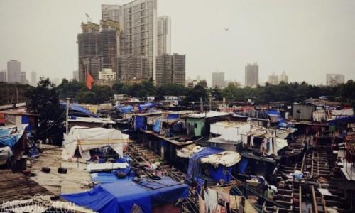 Zdjęcie INDIE / - / Bombaj / Pralnia w Bombaju