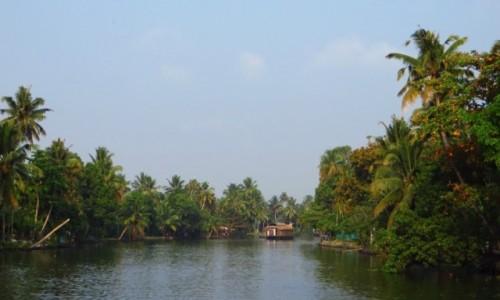 INDIE / Kerala / okolice Allepey / rozlewiska Kerali