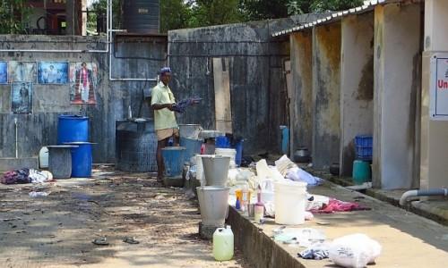 Zdjecie INDIE / Kerala / Cochin / pralnia miejska