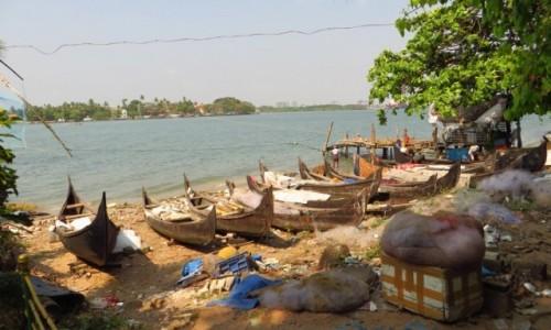 Zdjecie INDIE / Kerala / Cochin / w samo południe