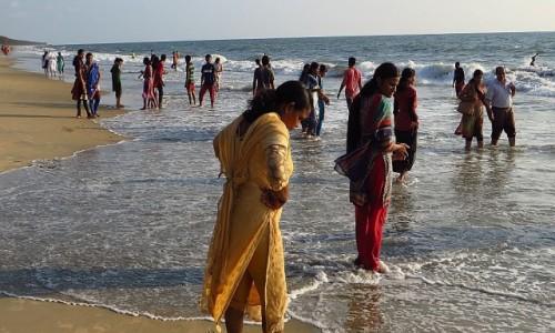 Zdjęcie INDIE / Kerala / Cherai / na plaży Morza Arabskiego