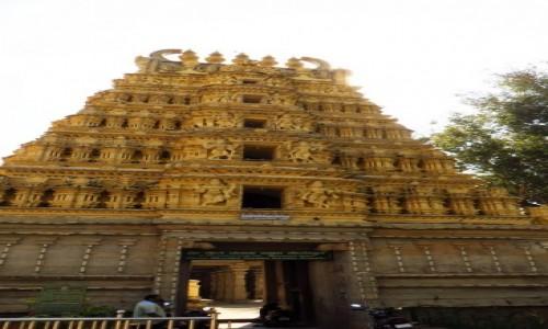Zdjęcie INDIE / Karnataka / Mysore / pałac królewski Wodejarów - Świątynia