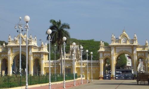 Zdjęcie INDIE / Karnataka / Mysore / pałac królewski Wodejarów