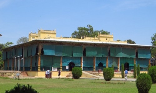 Zdjęcie INDIE / Karnataka / wyspa Śrirangapatnam na rzece Kaveri / pałac sułtana Tipu