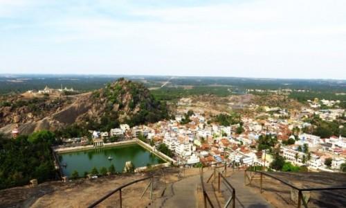 Zdjecie INDIE / Karnataka / Śrevanabelagola / widok ze szczytu
