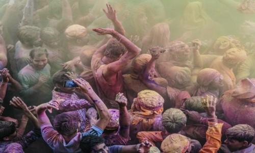 Zdjecie INDIE / Uttar Pradesh / Mathura / Holi