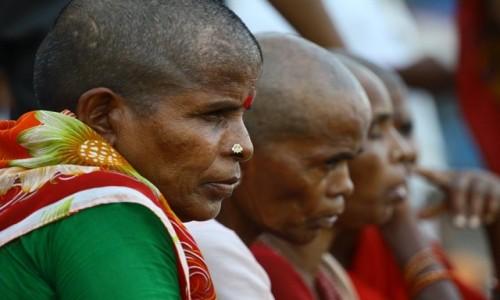 INDIE / Uttar Pradesh / Varanasi / Wdowy