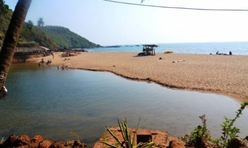 Zdjecie INDIE / Goa / rajska pla�a Cola / Cola beach