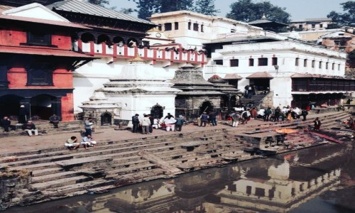 Zdjęcie INDIE / Nepal / Pashupatinath / Kathmandu