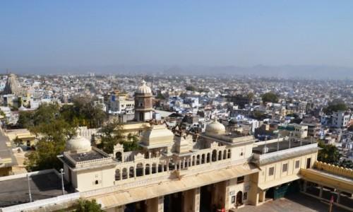 Zdjecie INDIE / Radzastan / City palace / Architektura Ud