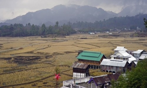 Zdj�cie INDIE / Arunachal Pradesh / Dolina Ziro / Dolina Ziro