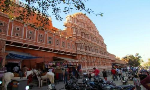 Zdjecie INDIE / Rad�astan / Jaipur / Pa�ac Wiatr�w
