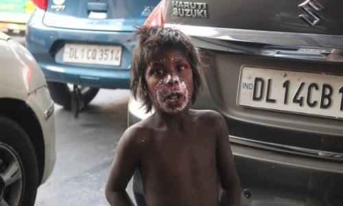 Zdjecie INDIE / - / New Delhi / Chłopiec2