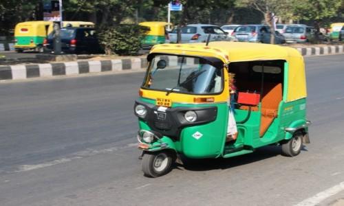 Zdj�cie INDIE / - / New Delhi / Taxi 1