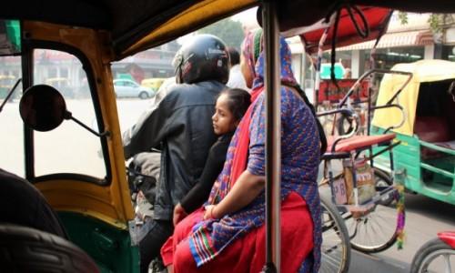 Zdj�cie INDIE / - / New Delhi / Cenny pasa�er