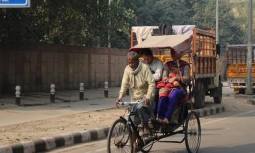 Zdj�cie INDIE / - / New Dalhi / Taxi