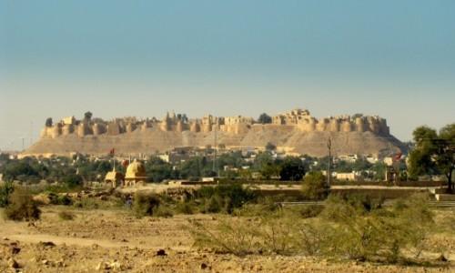 INDIE / Radżastan / Jaisalmer / Fort w Jaisalmerze