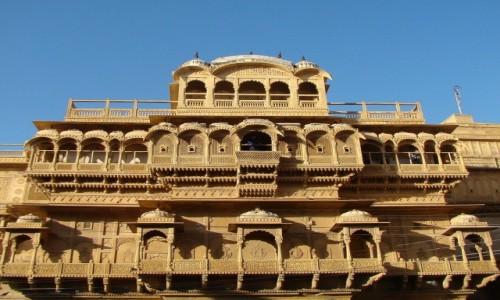 Zdj�cie INDIE / Rad�astan / Jaisalmer / Haveli
