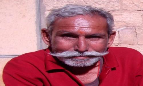 INDIE / Radżastan / Jaisalmer / Te wąsy!