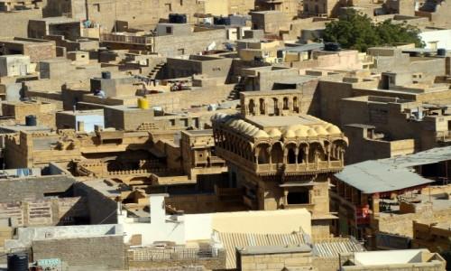 INDIE / Radżastan / Jaisalmer / Z rooftopu