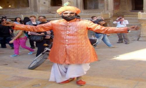 INDIE / Radżastan / Jaisalmer / Taaakie wąsy