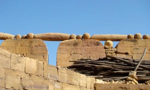 Zdjecie INDIE / Rad�astan / Jaisalmer-fort / Niby blanki...