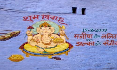 INDIE / Radżastan / Jaisalmer / Ganesh
