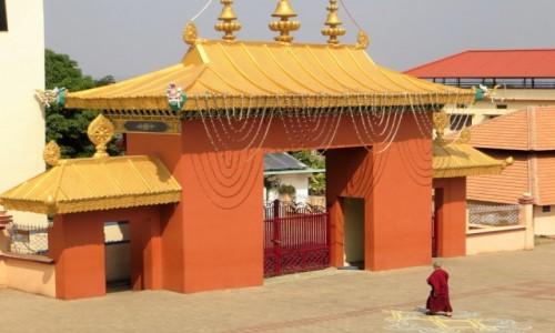 Zdjęcie INDIE / Karnataka / Namdroling / w diasporze