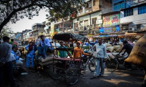 Zdj�cie INDIE / Delhi / Delhi / Targ przypraw