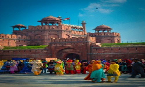 Zdj�cie INDIE / Delhi / Delhi / Red fort