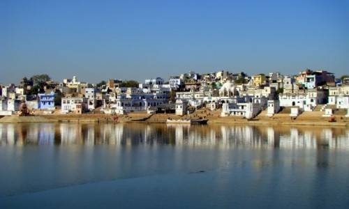 Zdj�cie INDIE / Rad�astan / Pushkar / �wi�te miasto