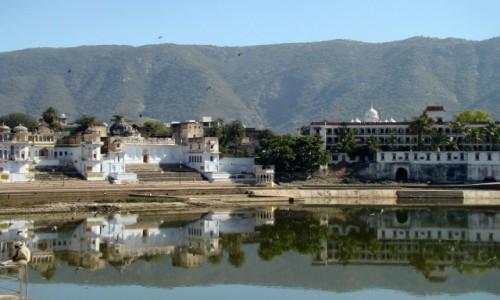 Zdj�cie INDIE / Rad�astan / Pushkar / Miejsce do medytacji