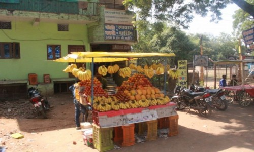 Zdjęcie INDIE / Madhya Pradesh / Bhopal / handel w Indiach