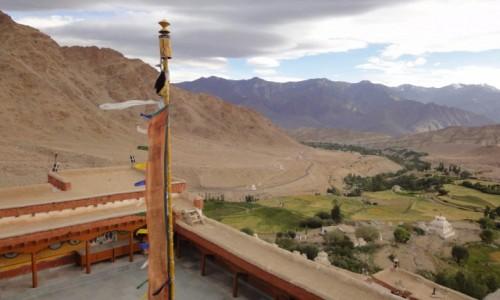 INDIE / Dżammu i Kaszmir / Likir / Likir Monastery