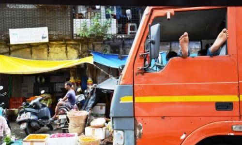 Zdjęcie INDIE / Maharasztra / Mumbaj / Mumbaj street