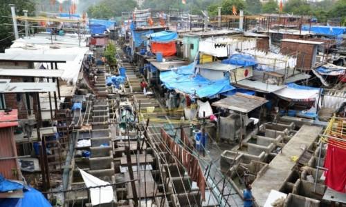 Zdjecie INDIE / Maharasztra / Dobi ghats / Pralnie bombajskie Dobi ghat