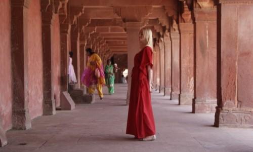Zdjęcie INDIE / Uttar Pradesh / Red fort Agra / Czerwono mi!