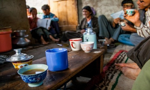 Zdjecie INDIE / Ladakh / Wioska Sakti / U